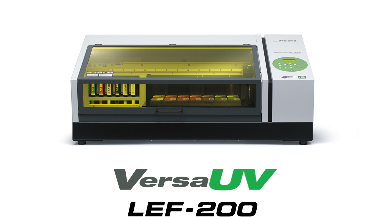 Roland DG Strengthens VersaUV Lineup with New LEF-200 UV Flatbed Printer Delivering Advanced Media Compatibility and Workflow Efficiency