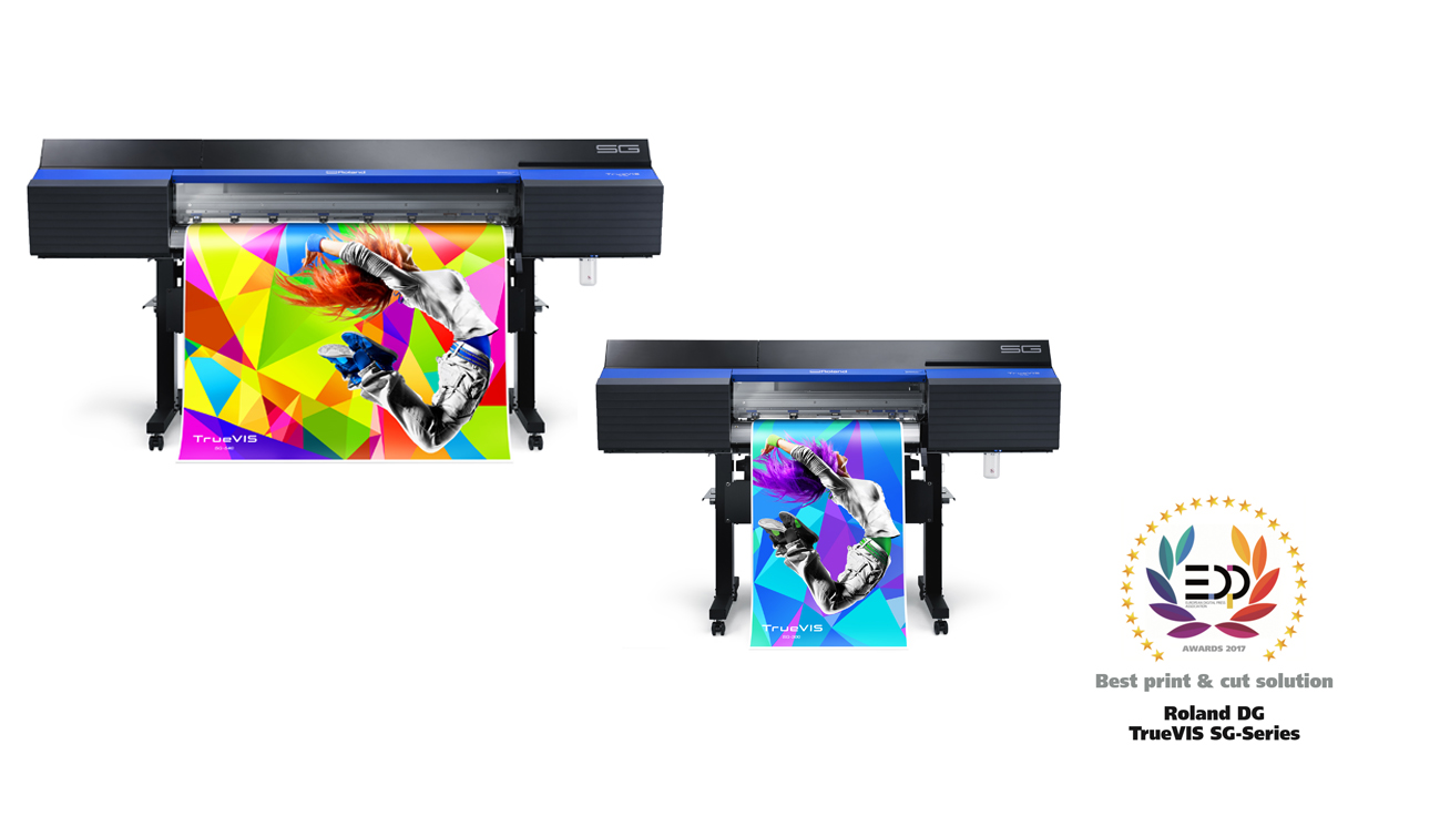 Roland DG Wins EDP Award for Best Print & Cut Solution for Second Year in a Row