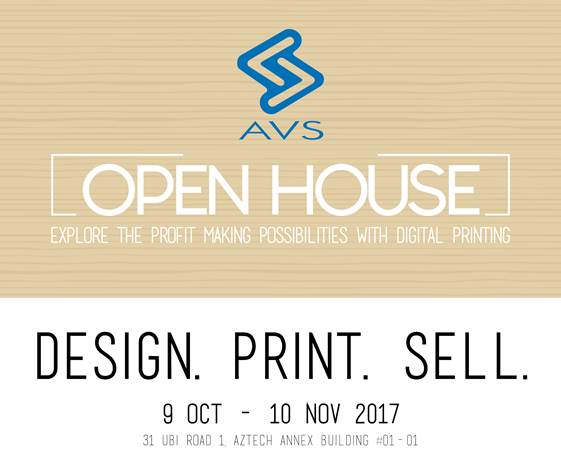 AVS Open House 2017: Design. Print. Sell